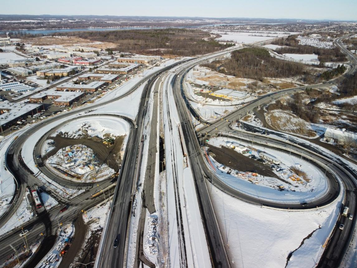 Montreal Road Interchange